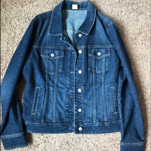 JCrew Women's Vintage Denim Jacket - Size L